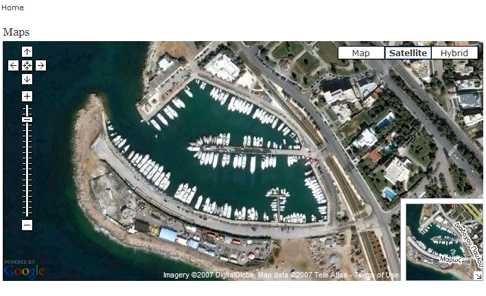 Help your Customers find your business with Successful Marina Web Aerial Maps